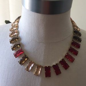 Red and Multi Necklace